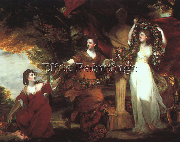 JOSHUA REYNOLDS REYN10 ARTIST PAINTING REPRODUCTION HANDMADE CANVAS REPRO WALL