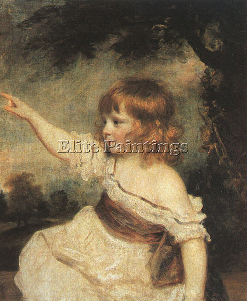 JOSHUA REYNOLDS REYN12 ARTIST PAINTING REPRODUCTION HANDMADE CANVAS REPRO WALL
