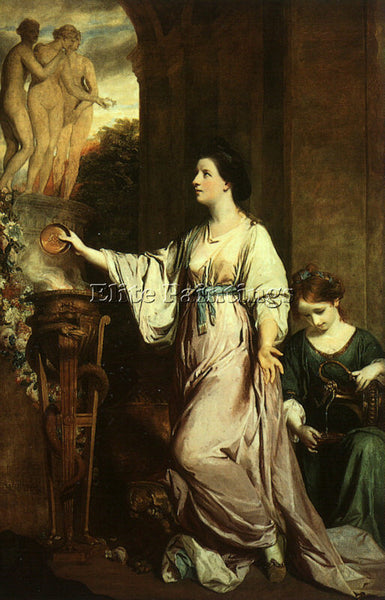 JOSHUA REYNOLDS REYN13 ARTIST PAINTING REPRODUCTION HANDMADE CANVAS REPRO WALL