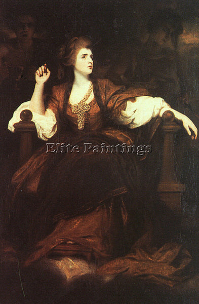 JOSHUA REYNOLDS REYN14 ARTIST PAINTING REPRODUCTION HANDMADE CANVAS REPRO WALL