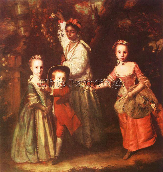 JOSHUA REYNOLDS REYN17 ARTIST PAINTING REPRODUCTION HANDMADE CANVAS REPRO WALL