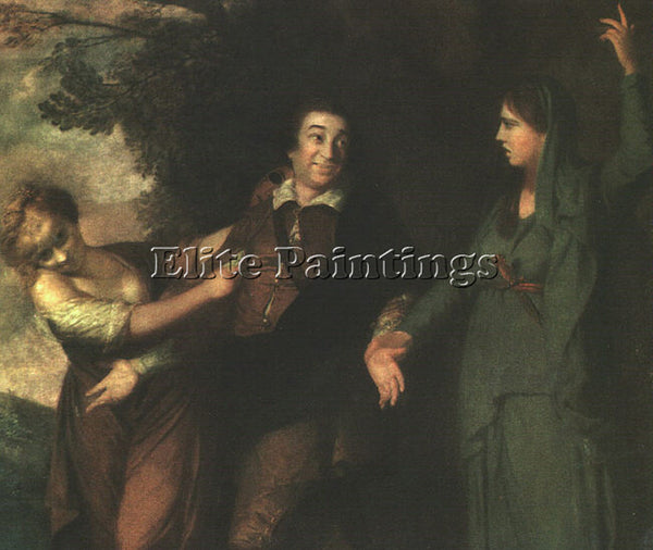 JOSHUA REYNOLDS REYND4 ARTIST PAINTING REPRODUCTION HANDMADE CANVAS REPRO WALL