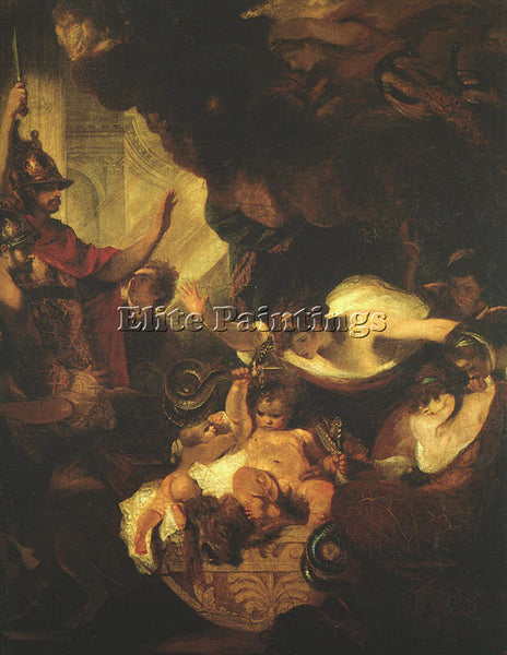 JOSHUA REYNOLDS REYND6 ARTIST PAINTING REPRODUCTION HANDMADE CANVAS REPRO WALL