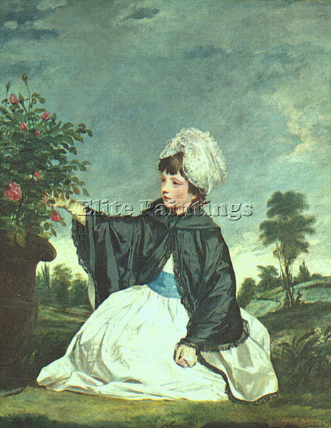 JOSHUA REYNOLDS REYND7 ARTIST PAINTING REPRODUCTION HANDMADE CANVAS REPRO WALL