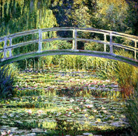 FAMOUS PAINTINGS LILY POND II 278 ARTIST PAINTING REPRODUCTION HANDMADE OIL DECO