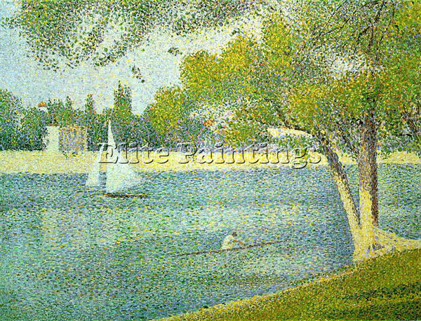 GEORGES SEURAT SEU10 ARTIST PAINTING REPRODUCTION HANDMADE OIL CANVAS REPRO WALL