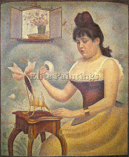GEORGES SEURAT SEU4 ARTIST PAINTING REPRODUCTION HANDMADE CANVAS REPRO WALL DECO