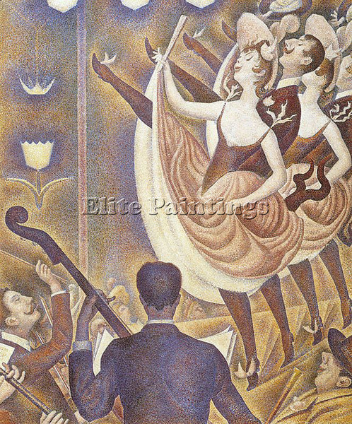 GEORGES SEURAT SEU5 ARTIST PAINTING REPRODUCTION HANDMADE CANVAS REPRO WALL DECO