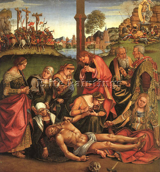 LUCA SIGNORELLI SIGN13 ARTIST PAINTING REPRODUCTION HANDMADE CANVAS REPRO WALL