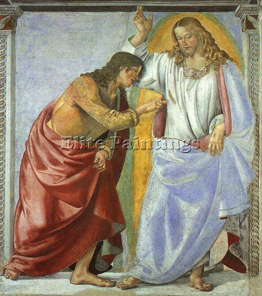 LUCA SIGNORELLI SIGN2 ARTIST PAINTING REPRODUCTION HANDMADE OIL CANVAS REPRO ART