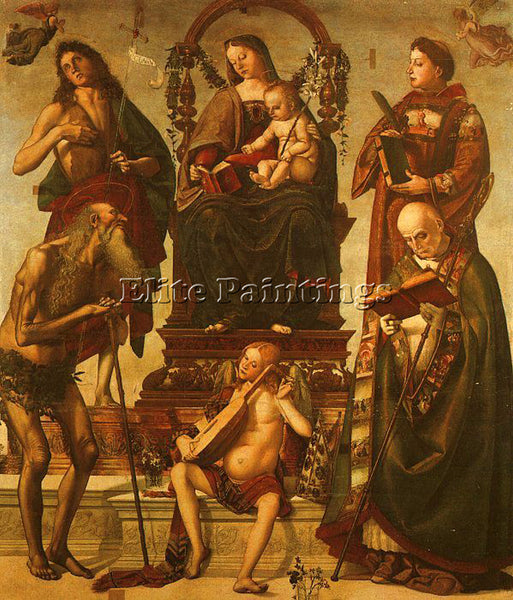 LUCA SIGNORELLI SIGN3 ARTIST PAINTING REPRODUCTION HANDMADE OIL CANVAS REPRO ART