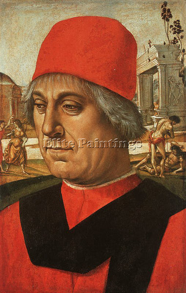LUCA SIGNORELLI SIGN6 ARTIST PAINTING REPRODUCTION HANDMADE OIL CANVAS REPRO ART
