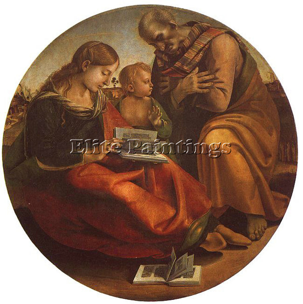 LUCA SIGNORELLI SIGN8 ARTIST PAINTING REPRODUCTION HANDMADE OIL CANVAS REPRO ART