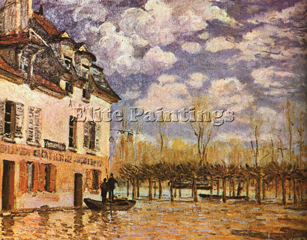 ALFRED SISLEY SIS1 ARTIST PAINTING REPRODUCTION HANDMADE CANVAS REPRO WALL DECO