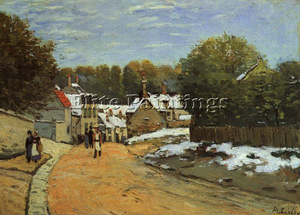 ALFRED SISLEY SIS2 ARTIST PAINTING REPRODUCTION HANDMADE CANVAS REPRO WALL DECO