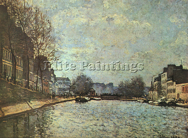 ALFRED SISLEY SIS4 ARTIST PAINTING REPRODUCTION HANDMADE CANVAS REPRO WALL DECO
