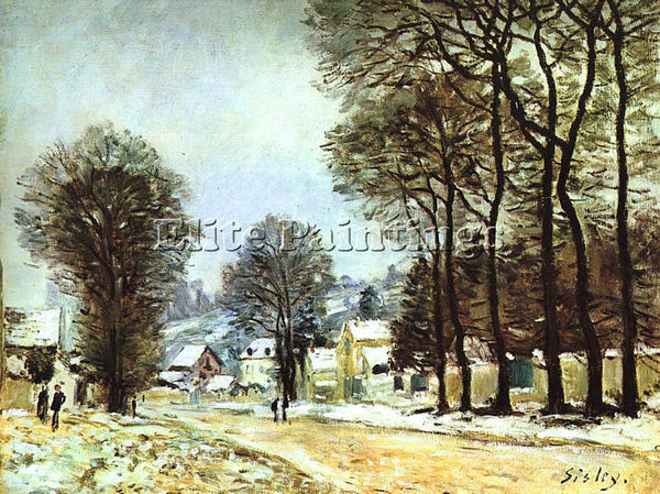 ALFRED SISLEY SIS5 ARTIST PAINTING REPRODUCTION HANDMADE CANVAS REPRO WALL DECO