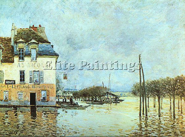 ALFRED SISLEY SIS6 ARTIST PAINTING REPRODUCTION HANDMADE CANVAS REPRO WALL DECO