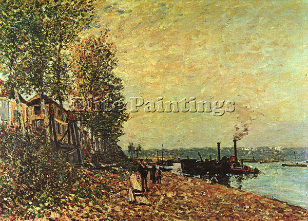 ALFRED SISLEY SIS7 ARTIST PAINTING REPRODUCTION HANDMADE CANVAS REPRO WALL DECO