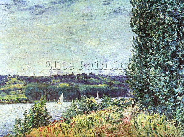 ALFRED SISLEY SIS8 ARTIST PAINTING REPRODUCTION HANDMADE CANVAS REPRO WALL DECO