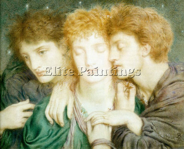 SIMEON SOLOMON SOLOMON3 ARTIST PAINTING REPRODUCTION HANDMADE CANVAS REPRO WALL
