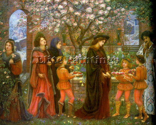 MARIA SPARTALI STILLMAN 1 ARTIST PAINTING REPRODUCTION HANDMADE OIL CANVAS REPRO