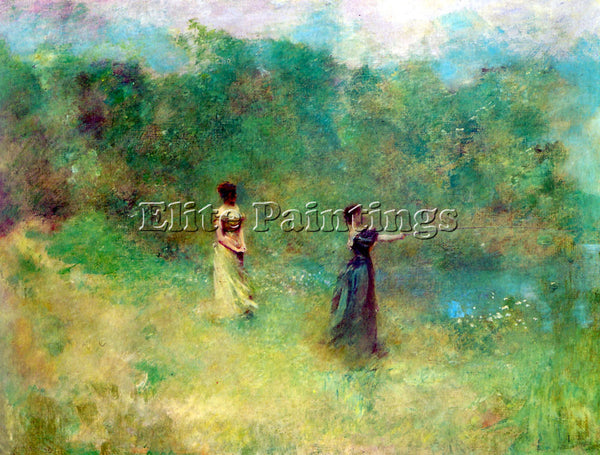 THOMAS WILMER DEWING SUMMER ARTIST PAINTING REPRODUCTION HANDMADE OIL CANVAS ART