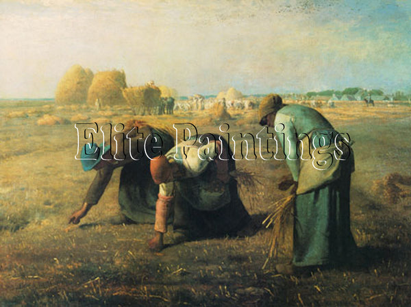 FAMOUS PAINTINGS THE GLEANERS 4290 ARTIST PAINTING REPRODUCTION HANDMADE OIL ART