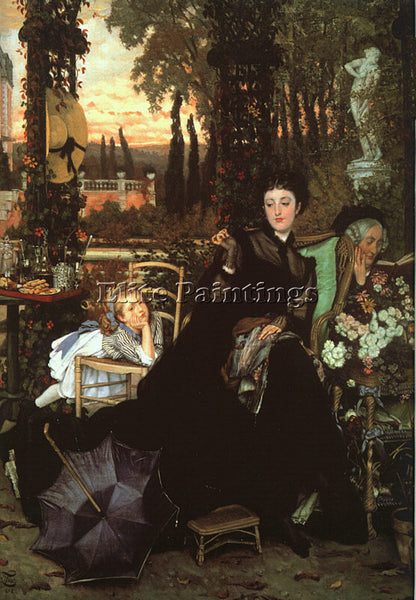 JAMES TISSOT TISS10 ARTIST PAINTING REPRODUCTION HANDMADE CANVAS REPRO WALL DECO