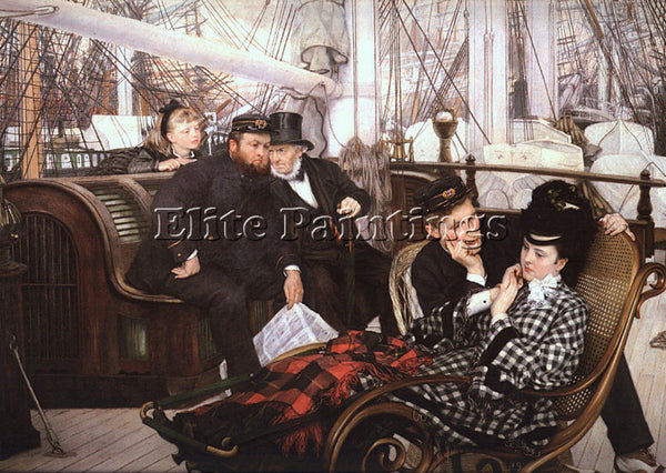 JAMES TISSOT TISS14 ARTIST PAINTING REPRODUCTION HANDMADE CANVAS REPRO WALL DECO