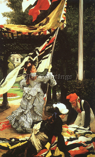 JAMES TISSOT TISS17 ARTIST PAINTING REPRODUCTION HANDMADE CANVAS REPRO WALL DECO