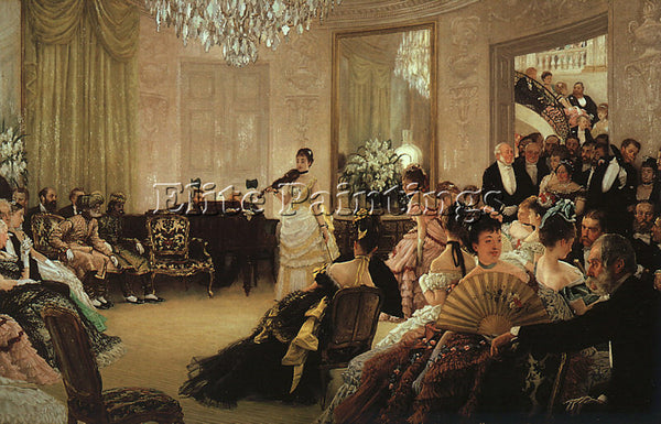 JAMES TISSOT TISS18 ARTIST PAINTING REPRODUCTION HANDMADE CANVAS REPRO WALL DECO