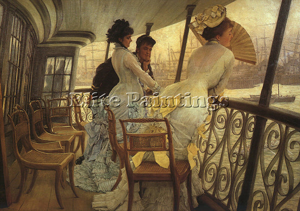 JAMES TISSOT TISS21 ARTIST PAINTING REPRODUCTION HANDMADE CANVAS REPRO WALL DECO