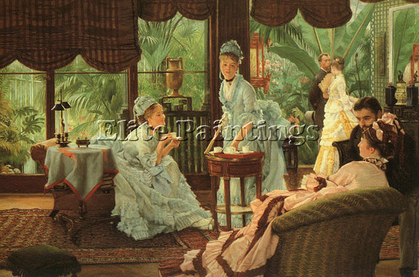 JAMES TISSOT TISS22 ARTIST PAINTING REPRODUCTION HANDMADE CANVAS REPRO WALL DECO