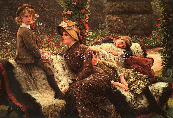 JAMES TISSOT TISS23 ARTIST PAINTING REPRODUCTION HANDMADE CANVAS REPRO WALL DECO