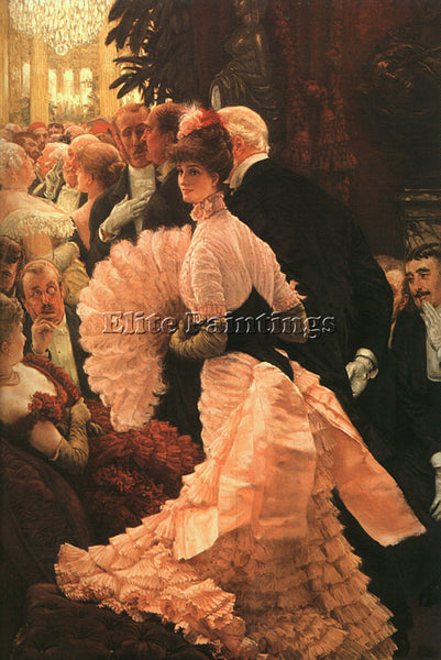 JAMES TISSOT TISS24 ARTIST PAINTING REPRODUCTION HANDMADE CANVAS REPRO WALL DECO