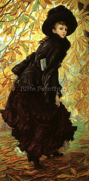 JAMES TISSOT TISS5 ARTIST PAINTING REPRODUCTION HANDMADE CANVAS REPRO WALL DECO