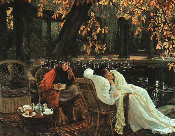 JAMES TISSOT TISS6 ARTIST PAINTING REPRODUCTION HANDMADE CANVAS REPRO WALL DECO