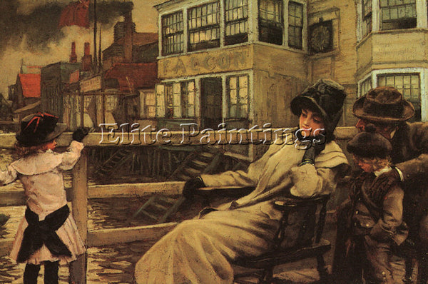 JAMES TISSOT TISS7 ARTIST PAINTING REPRODUCTION HANDMADE CANVAS REPRO WALL DECO