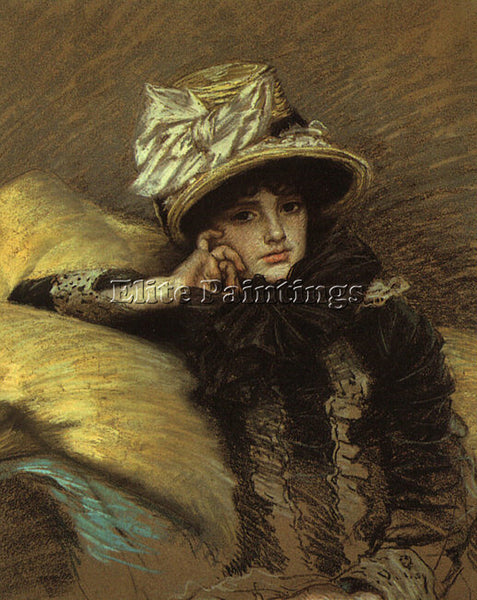 JAMES TISSOT TISS8 ARTIST PAINTING REPRODUCTION HANDMADE CANVAS REPRO WALL DECO