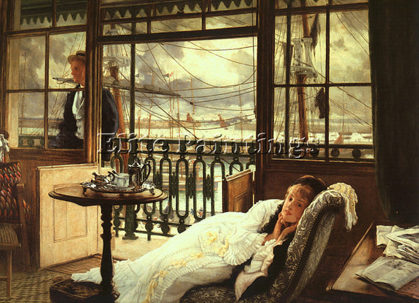 JAMES TISSOT TISS ARTIST PAINTING REPRODUCTION HANDMADE CANVAS REPRO WALL DECO