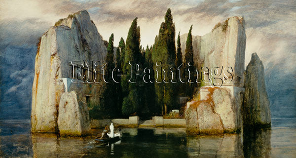FAMOUS PAINTINGS DEAD ISLAND II ARTIST PAINTING REPRODUCTION HANDMADE OIL CANVAS