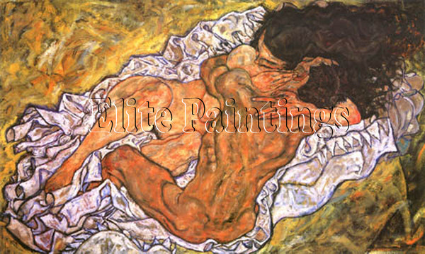 FAMOUS PAINTINGS HUG LOVING COUPLE LL HI ARTIST PAINTING REPRODUCTION HANDMADE