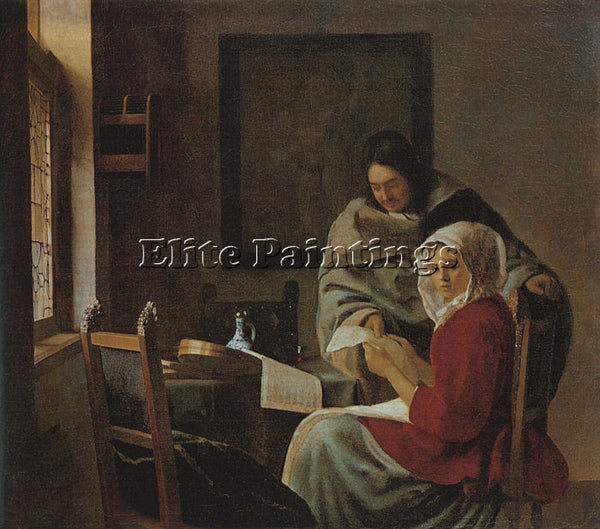 JAN VERMEER VERM11 ARTIST PAINTING REPRODUCTION HANDMADE CANVAS REPRO WALL DECO