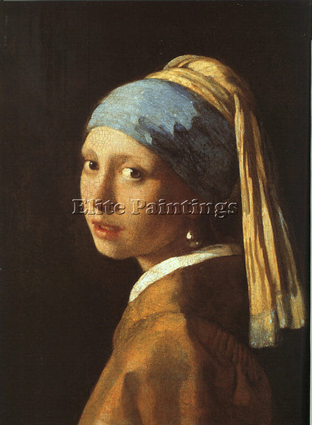 JAN VERMEER VERM14 ARTIST PAINTING REPRODUCTION HANDMADE CANVAS REPRO WALL DECO