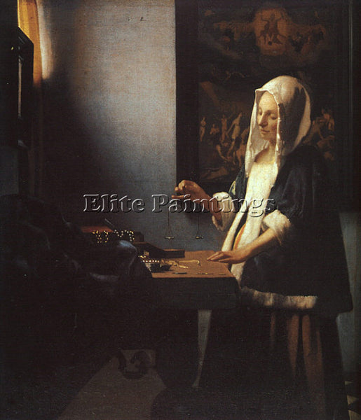 JAN VERMEER VERMR6 ARTIST PAINTING REPRODUCTION HANDMADE CANVAS REPRO WALL DECO