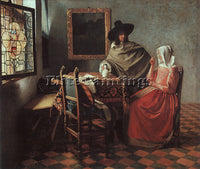 JAN VERMEER VERMR7 ARTIST PAINTING REPRODUCTION HANDMADE CANVAS REPRO WALL DECO