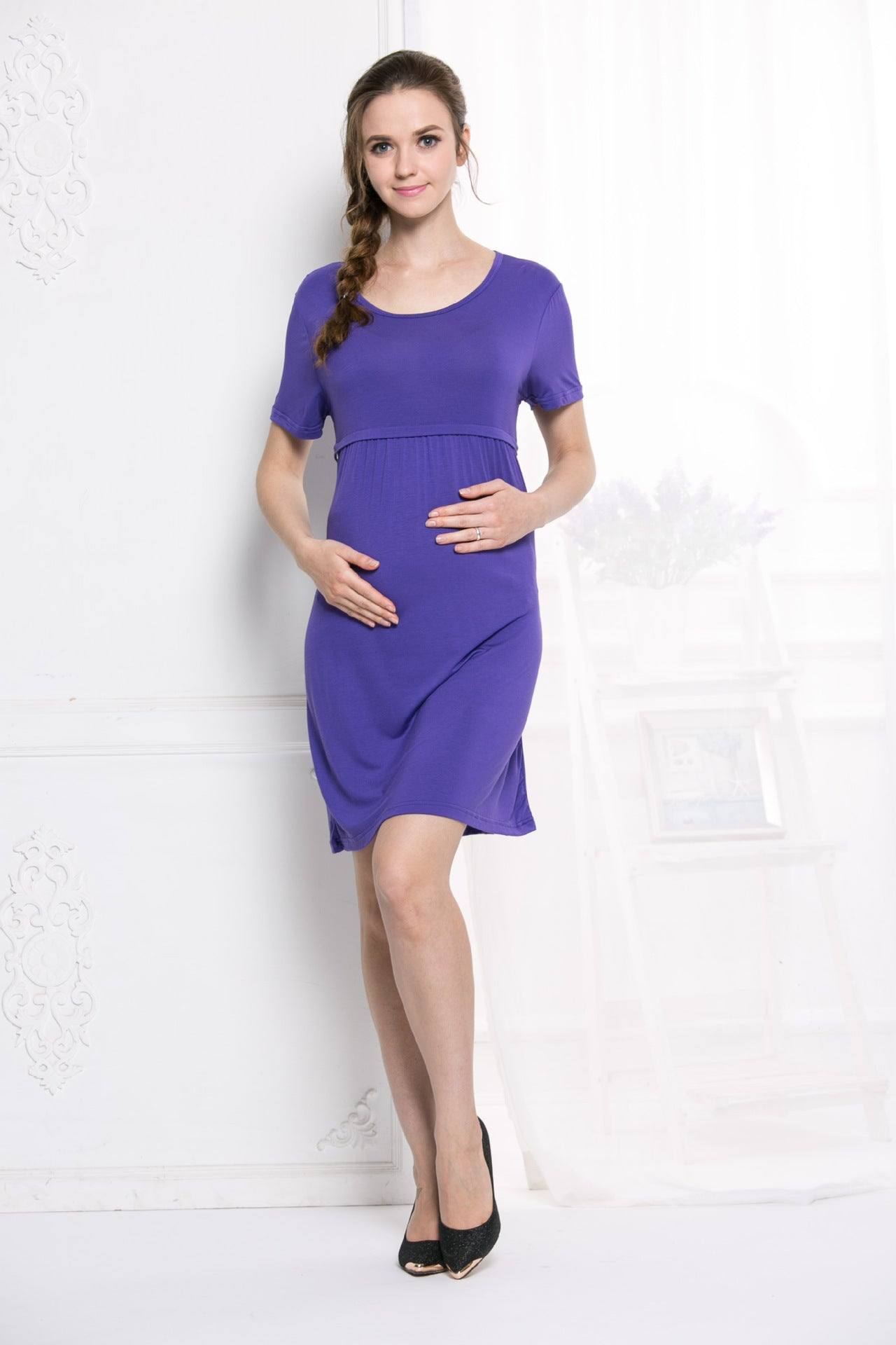 Breast-feeding Dress Maternity Dress