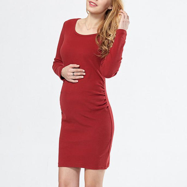 Maternity Ruched Short Dress