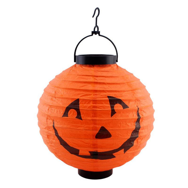 Halloween Portable LED Pumpkin Lantern Prop